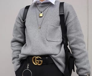 black, mens, and mens fashion image