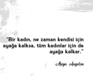 maya angelou, alıntı, and türkçe sözler image