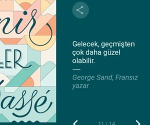 george sand, alıntı, and türkçe sözler image