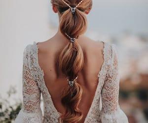 hair, belleza, and moda image