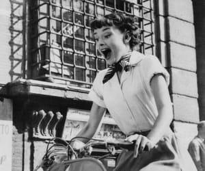 audrey hepburn, roman holiday, and vintage image