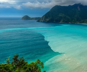 beach, ocean, and landscapes image