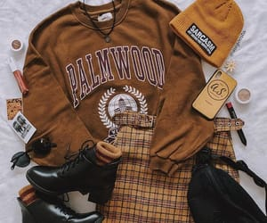 accessories, boots, and brown image