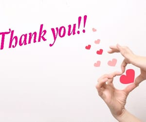heart, thankyou, and thnx image