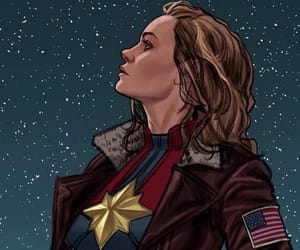 captain marvel, Marvel, and brie larson image