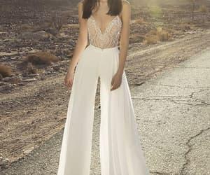 bridal, jumpsuit, and pants image