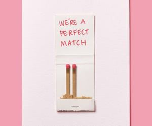 love, match, and pink image