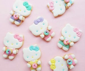 colorful, cookie, and food image