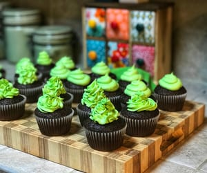 chocolate, green, and yum image