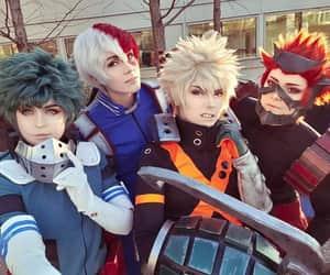anime, cosplay, and anime boy image