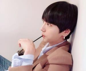 iced coffee, idol, and kpop image
