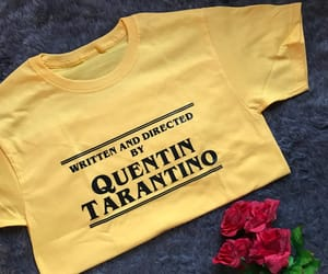 quentin, quentin tarantino, and t-shirt image