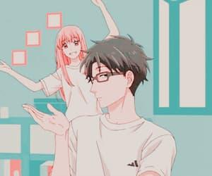 anime, wotakoi, and gif image