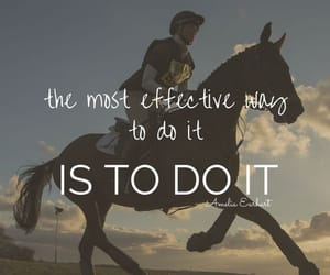 barn, horse riding, and quote image