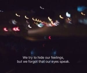 quotes, feelings, and eyes image