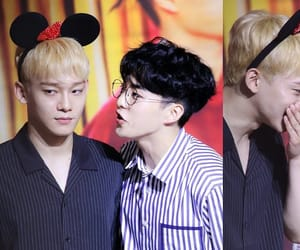 Chen, exo, and xiuchen image