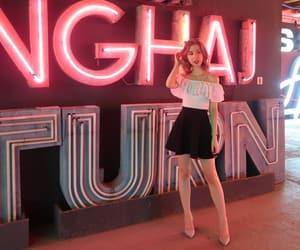 alternative, high heels, and neon image