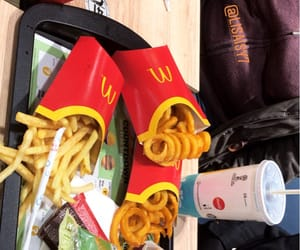 fries and mc donalds image