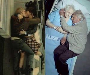 couple, husband, and old image