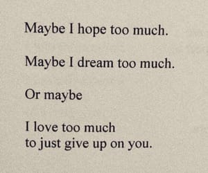breakups, Dream, and give up image