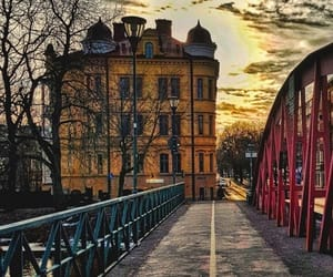 city, street, and sweden image