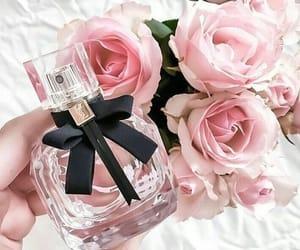 perfume, pink, and beautiful girl image