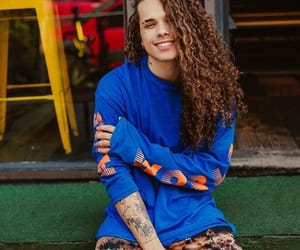 brazilian, curly hair, and singer image