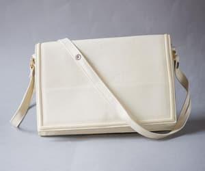 etsy, rectangular bag, and vintage purse ivory image