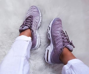 nike, purple, and sneakers image