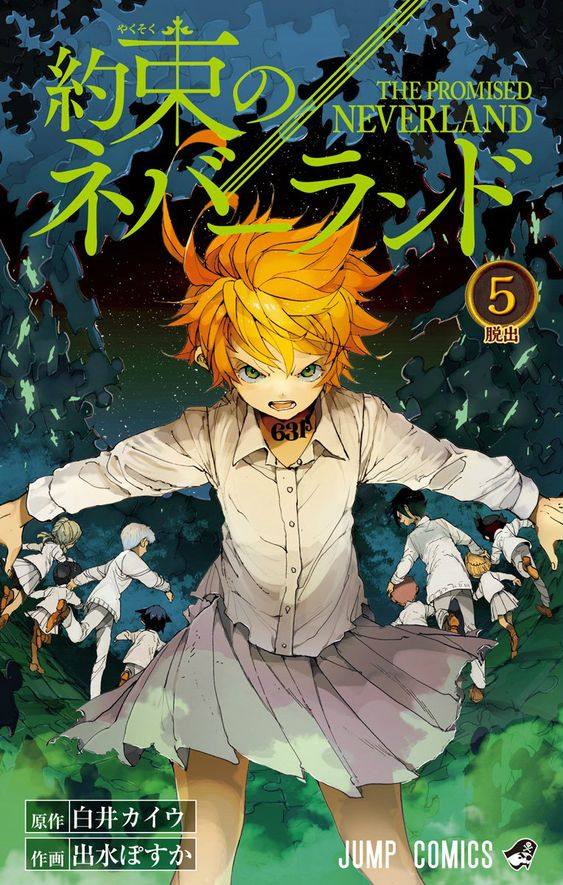 anime, yakusoku no neverland, and emma image