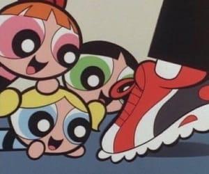 cartoon, 90s, and powerpuff girls image