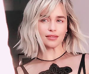 blonde, a song of ice and fire, and emilia clarke image