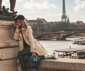 paris, france, and outfit image