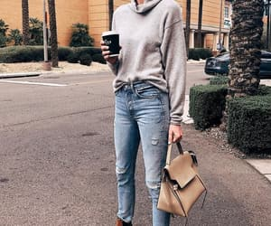 blogger, coffee, and look image