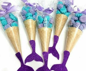blue, candy, and cones image