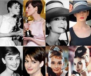 Anne Hathaway, audrey hepburn, and award image