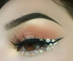 aesthetic, eyelashes, and tumblr image
