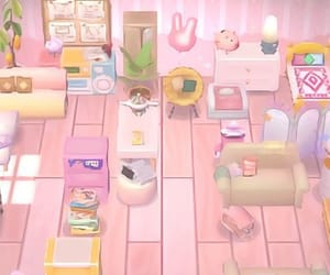 aesthetic, animal crossing, and interior image