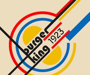 1923, bauhaus, and burger king image