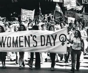 article, feminist, and women image
