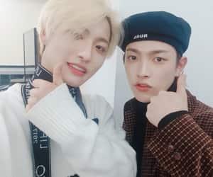 seonghwa, ateez, and hongjoong image