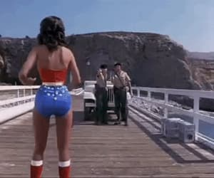 gif, Lynda Carter, and wonder woman image