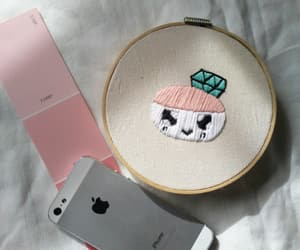 embroidery, kpop, and kpop merch image