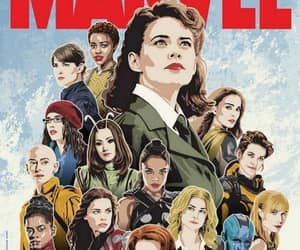 Marvel, black widow, and girl power image
