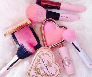 lipstick, makeup, and nail polish image