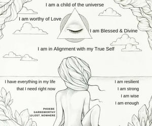 aligned, beautiful, and selflove image