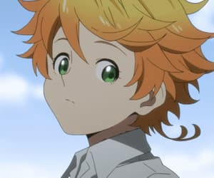 anime, the promised neverland, and anime girl image