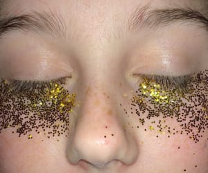 aesthetic, glitter, and tan image