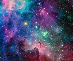 colorful, galaxy, and universe image