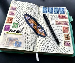 art journal, journal aesthetic, and journals image
